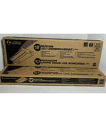 "2 - Lithonia Lighting UCLD 12.12"" LED Under Cabinet Bar Light New - $61.64"