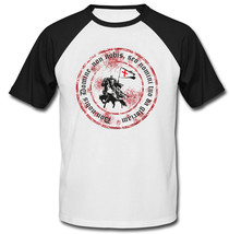 Knight Templar Don Nobis Domine Non - New Cotton Baseball Tshirt - $27.10