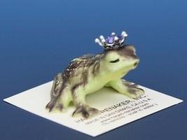 Birthstone Frog Prince Kissing June Alexandrite Miniatures by Hagen-Renaker image 2