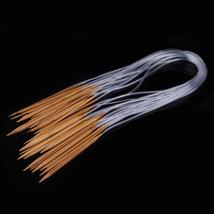 18 Sizes Sweater Knitting Needle Bamboo Smooth Finish Craft Circular Kni... - $20.00