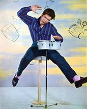 Cliff Richard 16X20 Canvas Giclee On Bongos 1960'S - $69.99