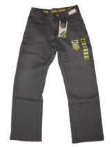Boy's LEE Sport Xtreme Comfort Straight Jeans Size 12 Reg Gray (Alloy) NWT - $19.79