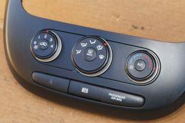 2014-16 Kia Soul Heater Climate Control Switch Panel Radio Trim image 5