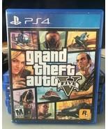 Grand Theft Auto V (PlayStation 4, 2014) - $14.59