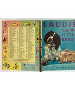 Laddie and the Little Rabbit !st ed Letter A 1952 Little Golden Book - $19.75
