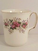 Royal Albert Lavender Rose Mug Bristol Shape Gold Trim Pink Roses 3.75 i... - $16.82