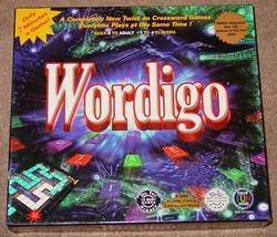 Wordigo Crossword Game 2000 Riveredge Game Co Complete Excellent - $30.00