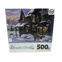 TCG Touch Of Frost Village Toy Shop Puzzle 500 Sure-lox Pieces New Sealed - $19.79