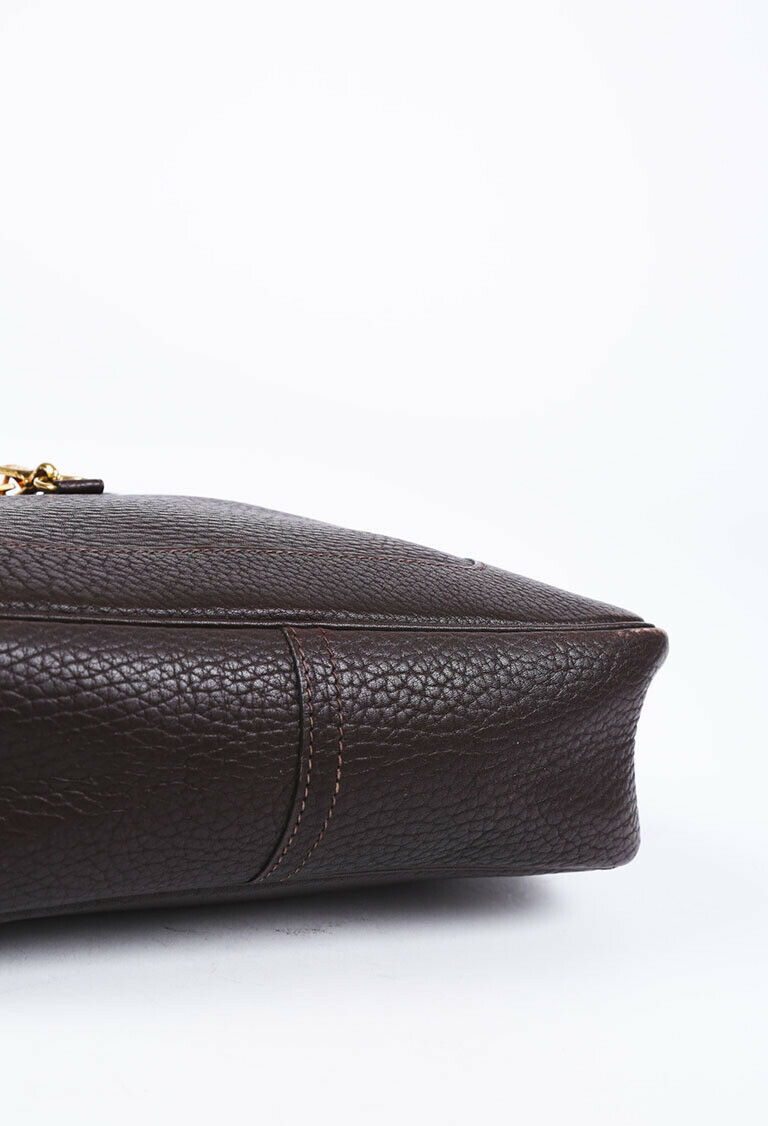 Vintage Hermes Trim 31 Buffalo Shoulder Bag image 3
