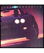 1981 Chevy Corvette ORIGINAL Dealer Brochure, GM NOS Xlnt 81 - $11.54