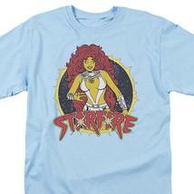 Firestar T-shirt DC Comics Teen Titans retro Super Hero Girls graphic tee shirt image 2