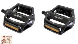 "BLACK OPS PLATFORM ALLOY ANODIZED GOLD 9//16/"" BICYCLE PEDALS"