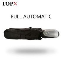 TopX® Full Automatic Umbrella Rain Women Men 3Folding Light And Durable ... - $19.33