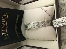 Wittnauer Woman's Swiss Swarovski Crystal Watch - New With Tags - $490.99