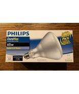 Philips 139279 Soft White 65-Watt BR40 Indoor Flood Light Bulb, 2-Pack B... - $13.09