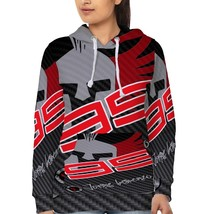 Jorge Lorenzo Racing MOTO GP   Hoodie Fullprint for women - $40.99+