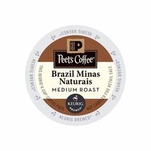 Peet's Coffee Brazil Minas Naturais Coffee, 88 count Kcups, FREE SHIPPING  - $68.99