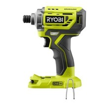"""Ryobi P239 One+ 18V 1/4"""" Brushless Hex Impact Driver Works W/ALL One+ Bare - New - $75.95"""