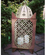 Big wooden arabic style lantern for candles - $120.00