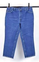 CARHARTT HRC2 FR Blue Denim Work Jeans Pants Mens Size 42 x 32 - $32.66