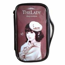 Fashion Waterproof Travel Makeup Case Cosmetic Bag Sundry/Toiletry, Coffee Hat