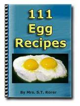 111 Egg Recipes - ebook - $0.99
