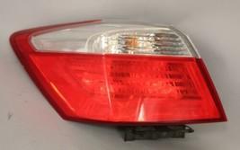 13 14 15 HONDA ACCORD LEFT DRIVER SIDE TAIL LIGHT OEM - $74.24