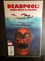 Deadpool Merc With a Mouth Signed Arthur Suydam Comic Book #2 Jaws Homage - $49.50