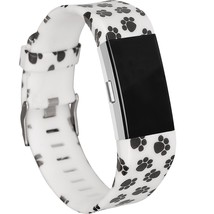Fitbit Charge 2 Wristband with Puppy Paw Print  SMALL - $1.99