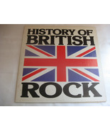 History Of British Rock Sire 2P 6547 Stereo Record Album 2 LP Set - $24.99