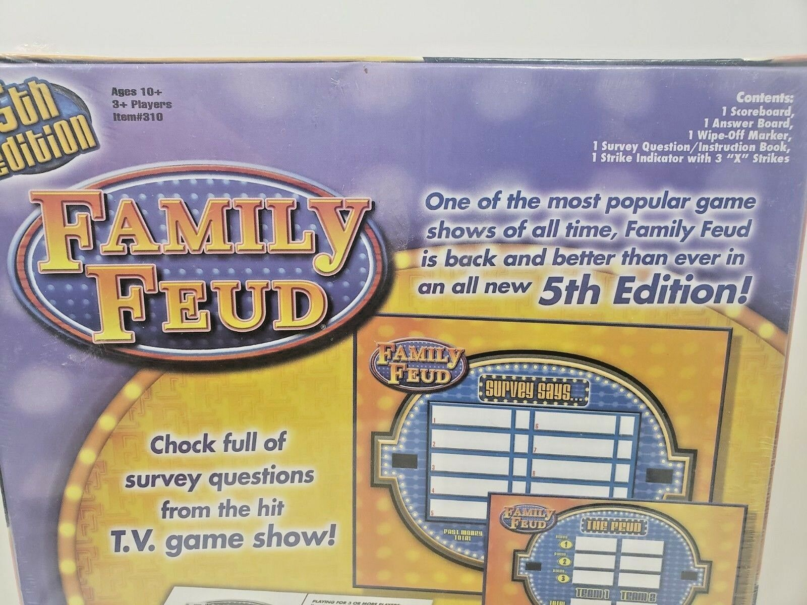 Family Feud 5th Editiion Board game... Brand New!!! image 4