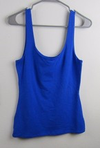 Express Women's Royal Blue Fully Lined Sleeveless size Small P Tank Tee - $15.83