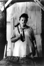 The Texas Chain Saw Massacre Leatherface holding axe 18x24 Poster - $23.99