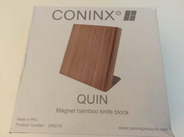 Coninx Quin Magnetic Bamboo Knife Holder New - $34.64