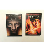 Two Great Horror Flicks: THE OMEN And THE RITE, - $9.89