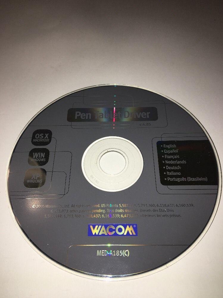 Wacom Pen Tablet Driver Installation CD and 11 similar items