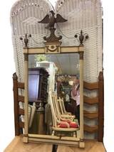 Vintage Ornate Eagle Wood Mirror - $899.98