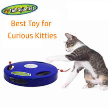 Tail Spin Rat, Electric Toy for Cat or Kitten, Interactive Battery Opera... - $23.85
