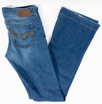 Mavi Kate Flare Leg Womens Jeans Low Rise Medium Wash Size 30/38 - $25.85
