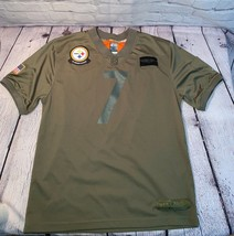 Ben Roethlisberger 7 Steelers Salute to Service XL Olive  Camo Jersey Nike - $69.99