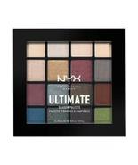 NYX Professional Makeup Ultimate Eyeshadow Palette Smokey & Highlight US... - $9.95