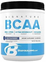 Bodybuilding Signature BCAA Powder | Essential Amino 30 Servings, Blue R... - $74.21