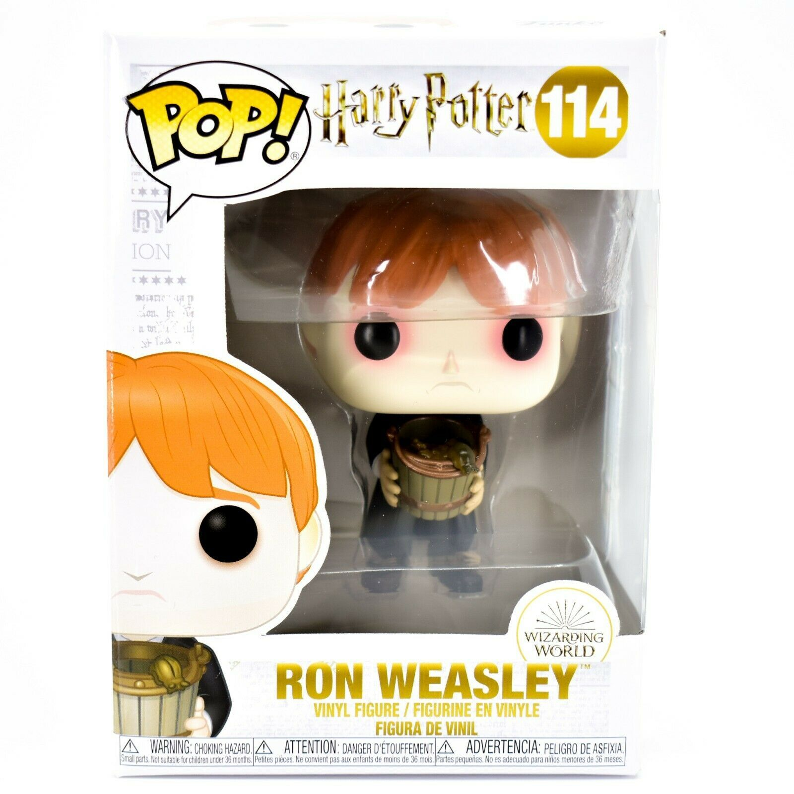Funko Pop! Harry Potter Ron Weasley Sick Puking Slugs #114 Vinyl Action Figure