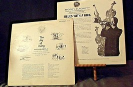 Nelson Riddle - The Joy of Living and Bobby Hackett - Blues with a Kick AA20-RC2 image 2