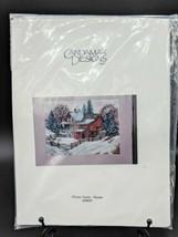 Cross Stitch Kit #50859 Candamar Designs John Sloane Winter Scene Four S... - $24.95
