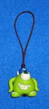 """Brand New Walt Disney """"Monsters, Inc."""" Mike Wazowski Plastic Figure With Strap - $5.99"""