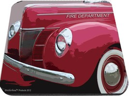 old fire department chiefs car mouse pad usa made - $342,56 MXN