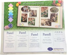 "Creative Memories Pastel Photo Mounting Paper, NIP, 10"" x 12"" 6 colors 1... - $14.99"