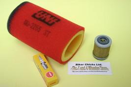 YAMAHA 85-89 YFM200 Moto 4  Air filter, Oil Filter & Spark Plug YFM 200 - $36.95