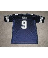 Tony Romo Dallas Cowboy's Reebok Jersey, Blue, Men's 2XL - $21.49